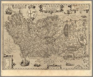 1608 Map of Ireland