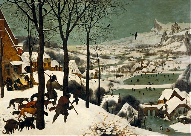 The Little Ice Age: Pieter Bruegel the Elder, Hunters in the Snow (Winter)
