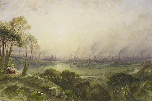 Definitions of Pollution: William Wyld, Manchester from Kersal Moor, 1852 (Image Credit: Royal Collection Trust)